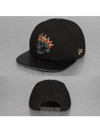 New Era Snapback Cap Crownskull 9Fifty black