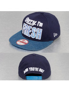 New Era Snapback Cap Fresh Infill 9Fifty blau