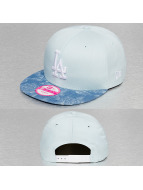 New Era Snapback Cap Denim Bloom LA Dodgers blau