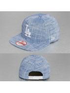 New Era Snapback Cap MLB Chambray LA Dodgers blau