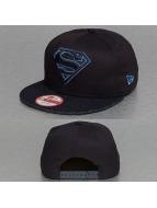 New Era Snapback Cap Denim Hero Superman 9Fifty blau