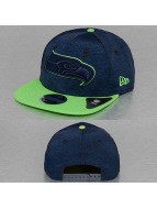 New Era Snapback Cap NFL Sports Jersey Seattle Seahawks blau