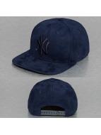 New Era Snapback Cap Suede ToneNY Yankees blau