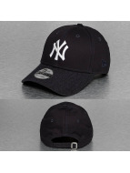 New Era Snapback Cap Team Heather Visor NY Yankees blau