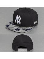 New Era Snapback Cap Camo Flock New York Yankees 59Fifty blau