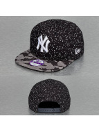 New Era Snapback Cap Camo Paint Spot Kids New York Yankees blau