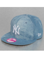 New Era Snapback Cap Sum Wash Snap Ney York Yankees 9Fifty blau