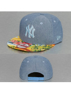 New Era Snapback Cap Island Visor New York Yankees blau
