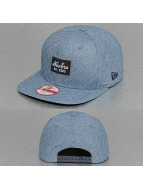 New Era Snapback Cap Quilted Patch blau