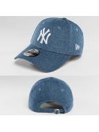 New Era Snapback Cap Denim Essential NY Yankees blau
