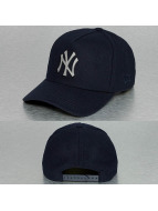 New Era Snapback Cap Melton Metal NY Yankees blau