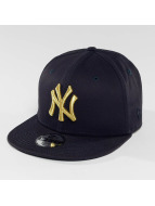 New Era Snapback Cap Golden NY Yankees 9Fifty blau