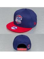 New Era Snapback Cap Edge Flare Chicago Cubs blue