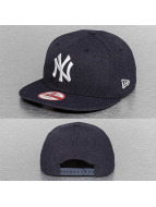 New Era Snapback Cap Tonal Team NY Yankees Heather blue