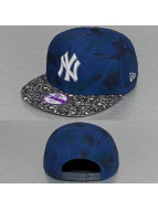 New Era Snapback Cap Junior Camo Speckle New York Yankees 9Fifty blue