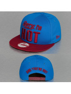 New Era Snapback Cap Sorry Iam Hot blue