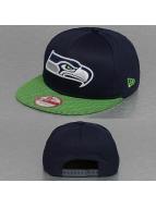 New Era Snapback Cap NFL Visor Mesh Seattle Seahawks bunt