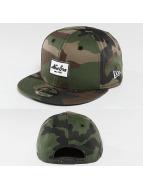 New Era snapback cap Rubber Script Patch camouflage