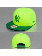 New Era Snapback Cap Pop Out New York Yankees 9Fifty gelb