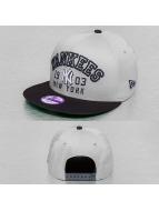 New Era Snapback Cap Kids Word Knock NY Yankees grau