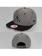 New Era Snapback Cap Palm Print NY Yankees grau