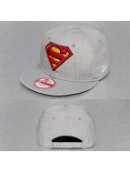 New Era Snapback Cap Heather Hero Superman grau