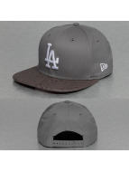 New Era Snapback Cap MLB Poly Core LA Dodgers 9Fifty grau