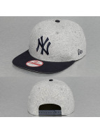 New Era Snapback Cap Jersey Team NY Yankees grau
