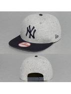 New Era Snapback Cap Jersey Team NY Yankees grau