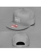 New Era Snapback Cap Patched Tone grau