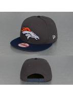 New Era Snapback Cap Emea Denver Broncos grau