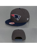 New Era Snapback Cap Emea New England Patriots grau