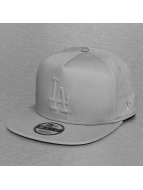 New Era Snapback Cap Tonal Gel Fill LA Dodgers grau