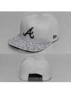New Era Snapback Cap Two Print Atlanta Braves 9Fifty grau