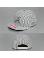 New Era Snapback Cap See Stripe Atlanta Braves 9Fifty grau