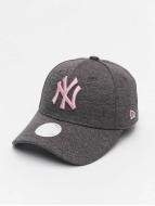 New Era Snapback Cap Tech Jersey NY Yankees 9Forty grau