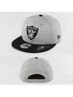 New Era Snapback Cap Team Heather Mesh Oakland Raiders grau