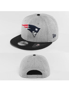 New Era Snapback Cap Team Heather Mesh New England Patriots grau