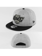 New Era Snapback Cap Team Heather Mesh LA Kings VC grau