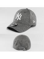 New Era Snapback Cap Team Jersey NY Yankees grau