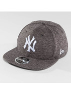 New Era Snapback Cap Slub NY Yankees 9Fifty grau