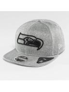 New Era Snapback Cap Jersey Tech Seattle Seahawks 9Fifty grau