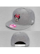 New Era Snapback Cap Character Chambray Minnie Mouse gray