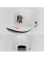 New Era Snapback Cap Pop Outline 2 NY Yankees grey