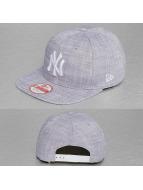 New Era Snapback Cap MLB Chambray NY Yankees grey