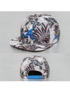 New Era Snapback Cap Florical Atlanta Braves grigio