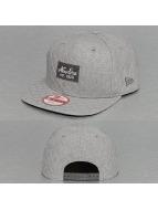 New Era snapback cap Quilted Patch grijs
