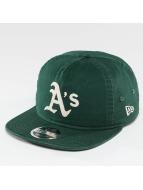 New Era snapback cap Chain Stitch Oakland Athletics groen