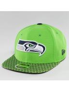 New Era Snapback Cap NFL On Field Seattle Seahawks 9Fifty grün