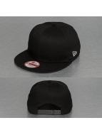 New Era Snapback Cap Cotton nero
